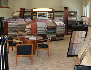 Carpet World showroom