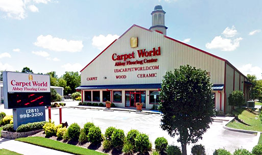 Visit Carpet World Abbey Flooring Center today for all of your carpet, hardwood, tile, stone, laminate, and vinyl needs!